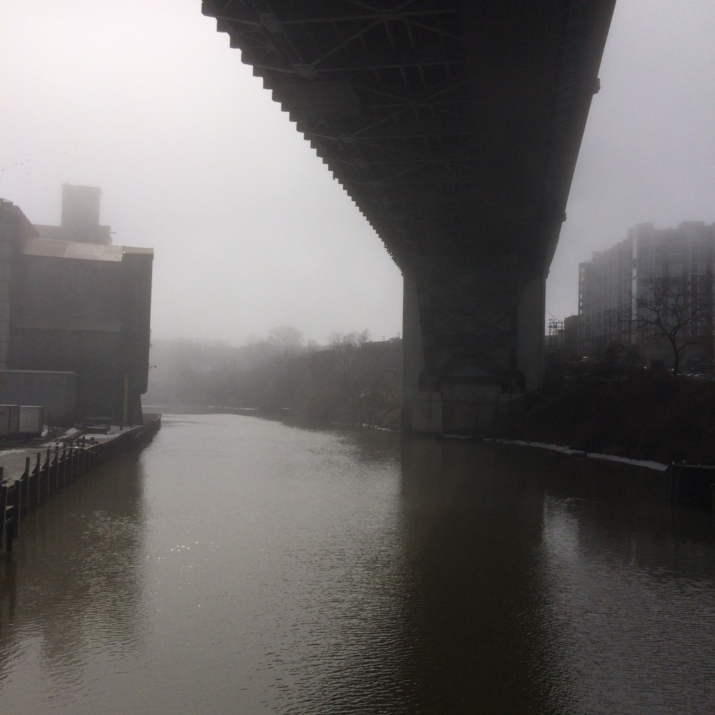 center street bridge view south
